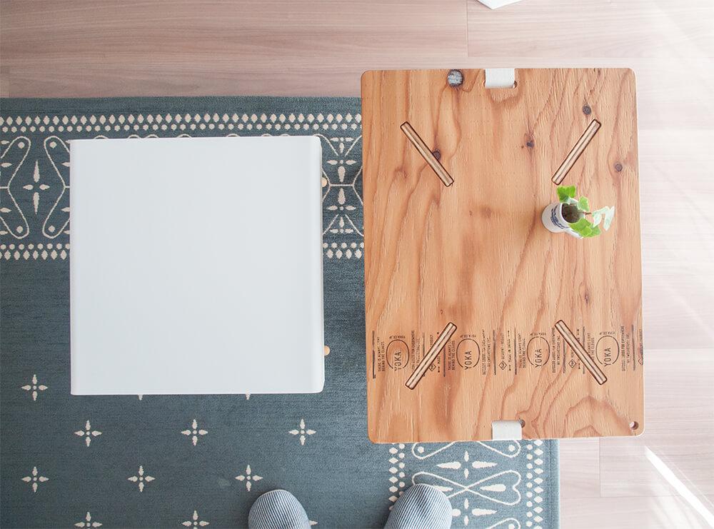 サイドテーブルサイズ比較