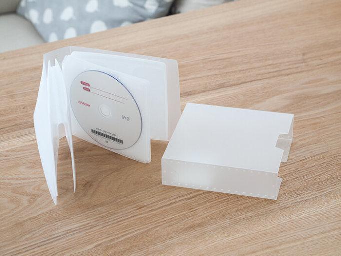 キャンドゥのCD/DVDファイルケース中身