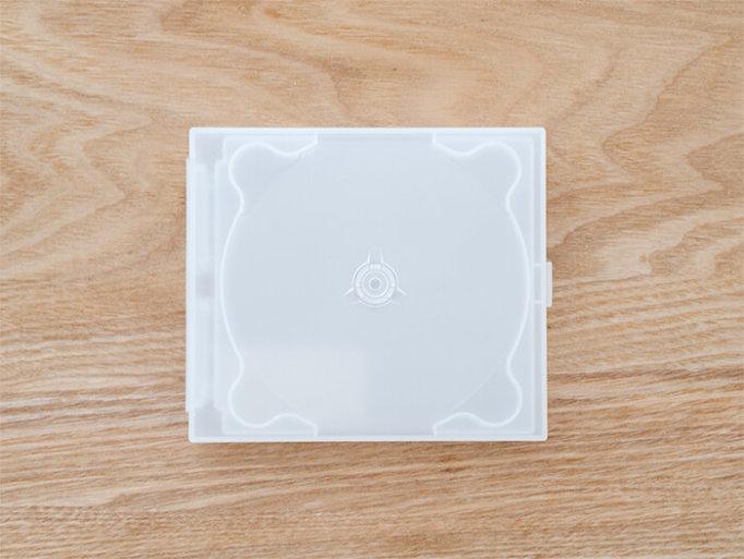 無印良品のCD・DVDケース