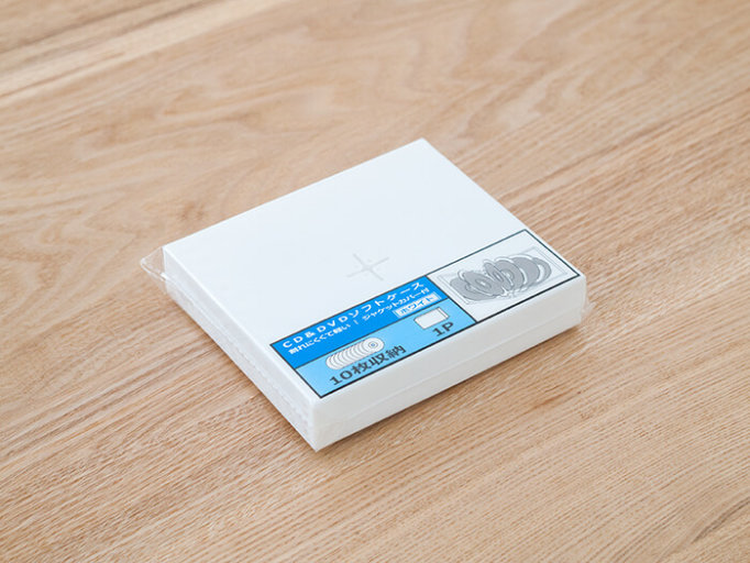 セリアのCD&DVDソフトケース。