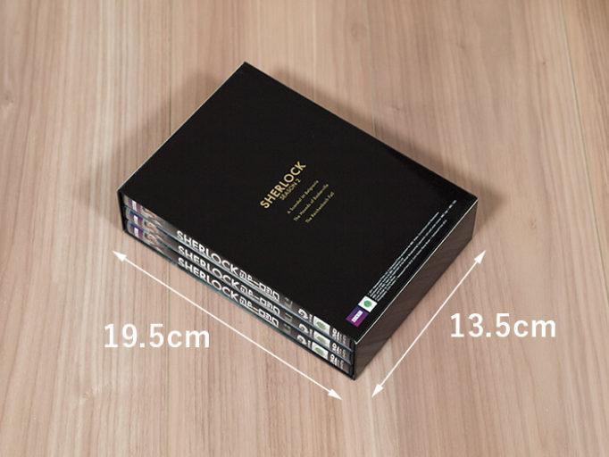 DVDボックスのサイズ