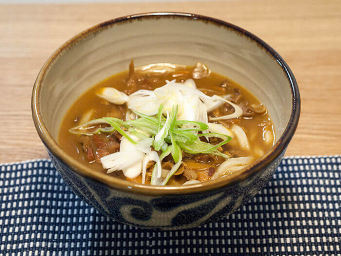 無印良品のカレーうどんスープ