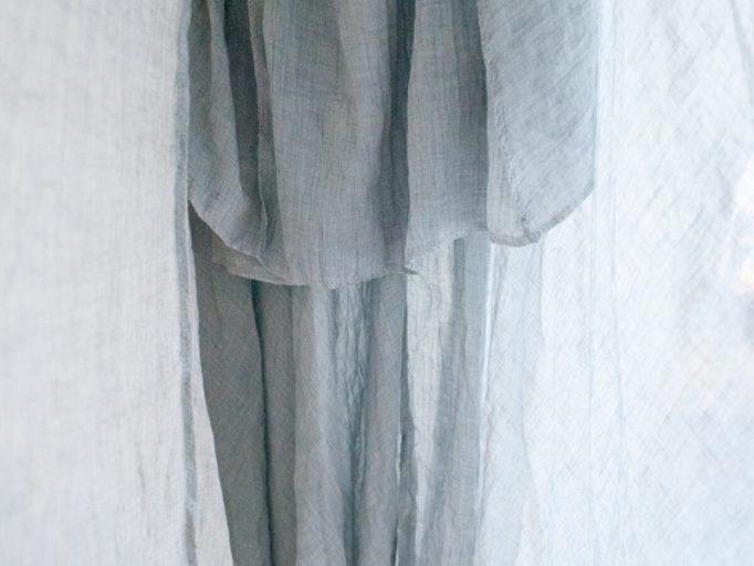 楽天で買ったマキシスカートの中、二重になってる生地の部分
