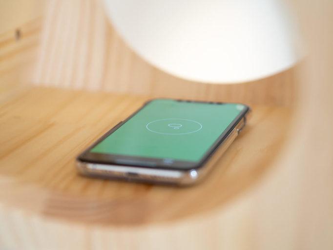 iPhoneの水平測定アプリ