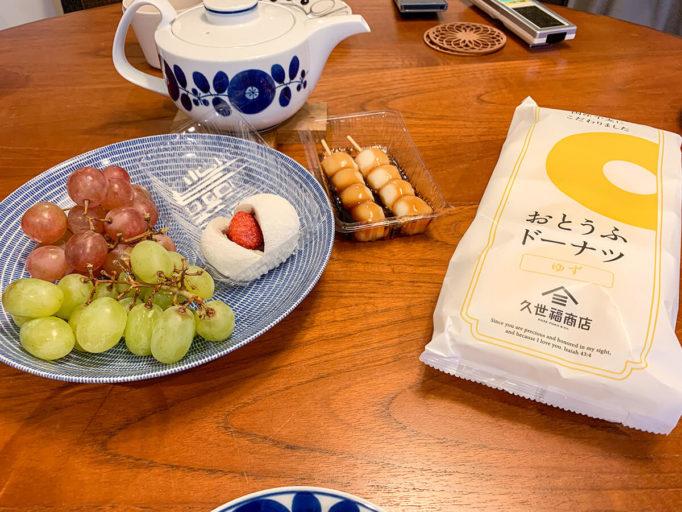 お茶会のお菓子
