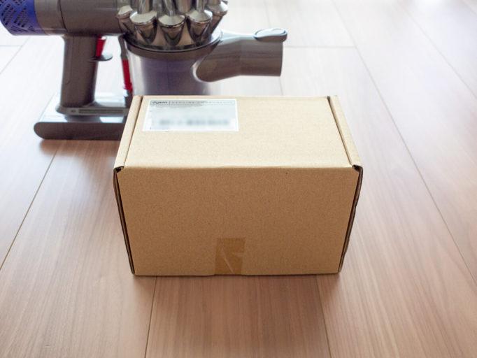 ダイソンバッテリーの箱