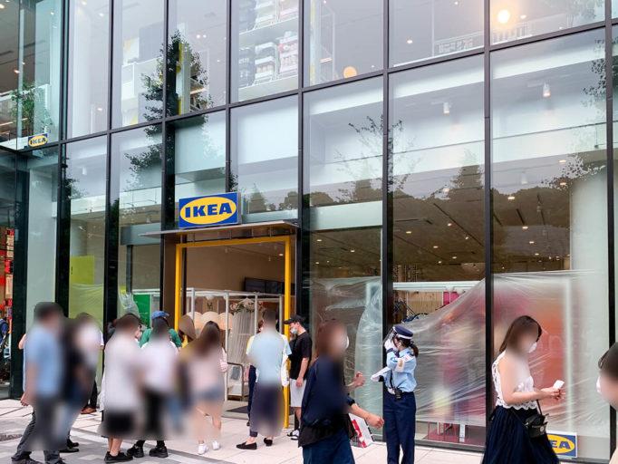 IKEA原宿のエントランス