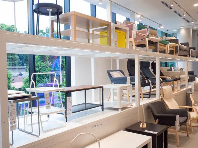 IKEA原宿の椅子コーナー