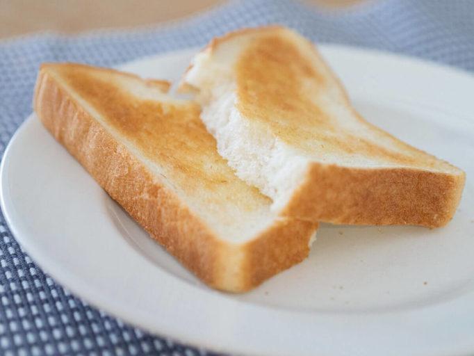 バルミューダトースターで焼いたトースト