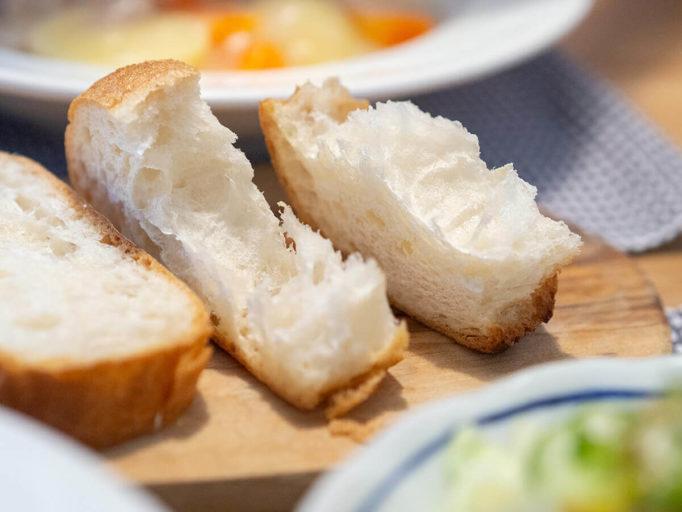焼いたフランスパン