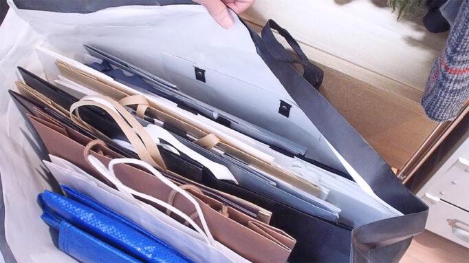 紙袋収納の問題点