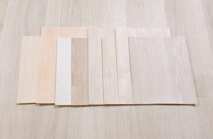 木目リメイクシートのサンプル